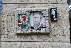 Jérôme Gulon, A2 (emilyD98) Tags: street art insolite paris rue mur wall collage mosaique mosaic jérôme gulon a2 la butte aux cailles 75013 13ème 13 ème urban exploration city ville installation