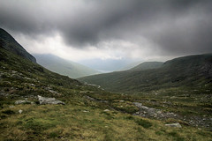 (OutdoorMonkey) Tags: valley beinnandothaidh beinndorain scotland bridgeoforchy lochlyon wild wilderness cloud cloudy moody atmospheric landscape countryside rural nature natural scenery scenic outside outdoor moor moorland