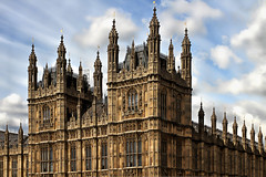 Palace of Westmnister (andycurrey2) Tags: housesofparliament building construction architecture gothic london towers masonry windows stone thames politics government sky classic beauty style heritage old historic design