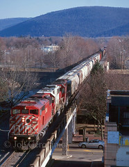 Barnstorming (Joe Geronimo) Tags: canadianpacific sooline norfolksouthern conrail erie lackawanna nysw dh railroad film newyork train kodak kodachrome ektachrome photography