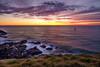 Set Course For The Sun (Claude downunder) Tags: ocean sea pacificocean sailing sailboat sunrise sun australia portmacquarie lighthousebeach tackingpoint morning dawn sky