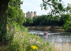 River Ouse at York (Allan Rostron) Tags: york summer riverouse boats hotels pleasureboats motorlaunches