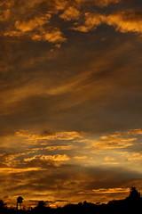 Sunset July 26 2017 #12 (Az Skies Photography) Tags: sun set sunset dusk twilight nightfall cloud clouds sky skyline skyscape skycandy skyfire red orange yellow gold golden salmon black canon eos 80d canoneos80d eos80d rio rico arizona az riorico rioricoaz arizonasky arizonaskyline arizonaskyscape arizonaskycandy arizonaskyfire july 26 2017 july262017 72617 7262017