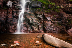 Weeping Wall - Kaaterskill Falls (Simmie | Reagor - Simmulated.com) Tags: 2017 cascade connecticutphotographer easterncatskillmountains greenecounty july kaaterskillcreek kaaterskillfalls landscape landscapephotography nature naturephotography newyork outdoors summer townofhunter twodrop unitedstates digital https500pxcomsreagor httpswwwinstagramcomsimmulated overcast twostagewaterfall water waterfall wwwsimmulatedcom palenville us
