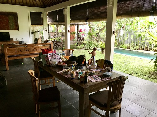 Our last day at our villa in Ubud, Bali