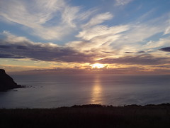 Sunset 5 (Saf37y) Tags: sunset seashore sea coast clouds costal sky scotland mhorhead seaside aberdeenshire gardenstown gamriebay gamrie