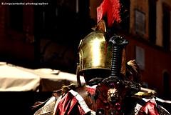 LEGIO (Ecinquantotto ( + 1.190.000 grazie !! )) Tags: street strada rome roma roads colori colors d3000 estate italia legionario legio spqr nikon nikond3000 reflex red