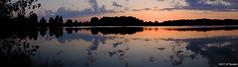 Crépuscule (jpto_55) Tags: soleilcouchant crepuscule etang reflet etanglariquette xe1 fuji fujifilm fujixf1855mmf284r hautegaronne france altocumulus