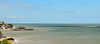 Clear view over Viking Bay, Broadstairs (philbarnes4) Tags: sand sea water vikingbay broadstairs thanet kent england unitedkingdom philbarnes dslr nokia5500 view seascape sky blue waves windturbines pier seawall bleakhouse pilotcutter