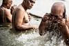 Holy Waters-DSC_9864 (thomschphotography3) Tags: india asia benares varanasi ganges ganga men hindu hindism bath spiritual religion water washing bathing oldmen portrait streetphotography