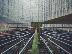 Abandoned cooling tower (NأT) Tags: urbex urban urbain urbaine urbanexploration explorationurbaine em1 exploration explore exploring empty alone nobody trespassing rotten dust dusty rust rusty creepy decay decaying derelict decayed lost perdu perdue abandoned abandon abandonné abandonnée abbandonato abbandonata ancien ancienne old past passé passée histoire history indus industrial factory usine coolingtower cooling tower refroidissement tour olympus omd zuiko 714mm 714 wide angle wideangle souvenir souvenirs memory memories building