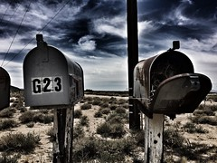 return to sender...(abandoned mailboxes-route 66-Goffs, CA.) (Aces & Eights Photography) Tags: abandoned abandonment decay ruraldecay mailbox abandonedmailbox route66 desert goffscalifornia california