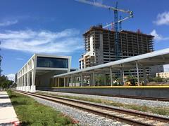 Brightline All Aboard Florida Station West Palm Beach (Phillip Pessar) Tags: brightline all aboard florida station west palm beach buidling architecture train rail construction