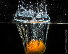 Orange in water (morgantbphotography) Tags: photo photograph photography photographer student work alevel worklife inspire water droplet edit lightroom photoshop photooftheday morgantbphotography orange fruit veg vegetables vegetable bubbles nature cherry cherries apple apples pepper chili chilli lighting fishtank waterdrops colour macro shutterspeed iso exposure fineart art fineartphotography dark vignette canon tripod naturephotography