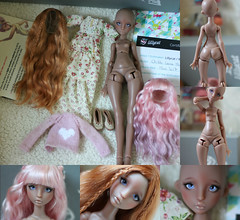 Lillycat Chibbi Lana Marron Glacé SOLD (Cleo6666) Tags: lana lillycat cerisedolls marron glacé bjd doll chibbi
