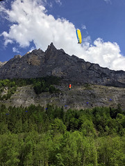 Alps Trip 0872m (mary2678) Tags: switzerland europe honeymoon mountain mountains lauterbrunnen valley bus paraglider paragliders trümmelbachfälle trummelbach falls rick steves myway alpine tour