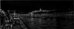 Strolling the Danube (Andy J Newman) Tags: hungary night silverefex candid street d500 nikon budapest danube lowlight palace girls light hu