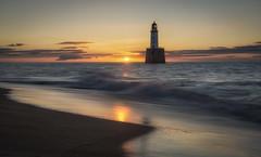 Rattray Head sunrise (Katherine Fotheringham) Tags: sunrise scotland rattray head lighthouse beach peterhead aberdeenshire
