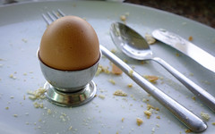 Boiled brown egg in eggcup on a wooden table (phuong.sg@gmail.com) Tags: background boiled breakfast broken brown closeup cooked cooking cuisine cup cut delicious diet eating egg eggcup eggs eggshell food fresh hard healthy homemade international meal natural nobody organic perfect piece protein rustic scramble shell soft spoon table tasty top traditional view white yellow