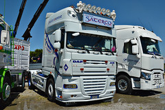 Daf XF105 Saterco (Samuele Trevisanello) Tags: truck truckmeeting meet meeting team xx secolo seriate bergamo 20° iveco scania volvo daf xf fh r streamline trucks transport transports truckfoto truckspotting passion nikon d3200 veicolo saterco bancali