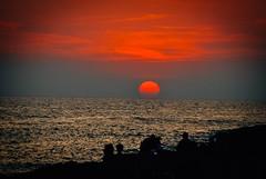 Red (sinnesblicke) Tags: ibiza spain spanien espana outdoor europe city landscape nature sunset sonnenuntergang sun sky cafedelmar nikon nikond60
