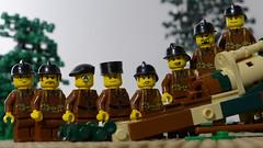 La French army (Rebla) Tags: lego rebla groupshot french army brickizimo