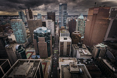 Vancouver BC, Canada (doublevision_photography) Tags: architecturephotography city clouds constructioncrane constructionphotos glasstower highrise sky vancity vancouverarchitecture vancouverbc vancouverbuildings vancouverskyline tableflying vancouver britishcolumbia canada ca