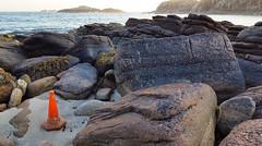 Shegra 4 (Craig Sparks) Tags: shegra sheigra polin polinbeach beach scotland sunset mountains sea foam reflection craigsparks chongsparks