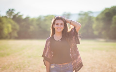 Shooting 3 (TessAnjel) Tags: portrait shoot shooting canon photography 85mm 18 girl nature sun summer clothes july fashion flower face brown pretty smile st baume sainte france forêt église sud south sunshine light sunset sunrise couché du soleil coucher arbre freedom young liberty