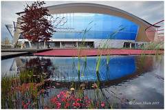 The Olympic Oval, Richmond, BC (Louis Shum) Tags: oval olympic richmond bc art artistic