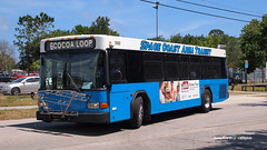 170429_079_SpaceCoast3582 (AgentADQ) Tags: space coast area transit brevard county cocoa florida motor bus society spring 2017 convention gillig low floor 3582