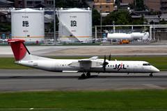 Japan Air Commuter JA848C (Howard_Pulling) Tags: fukuoka airport fuk fukairport japan japanese howardpulling