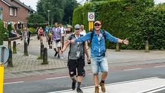 Frank van 't Hof loopt de Vierdaagse en iedere dag steunt een andere DJ hem daarbij. (NPO_Radio2) Tags: wouter van der goes nijmeegse vierdaagse nijmegen frank t hof npo radio 2