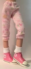 Daisy Pink Leggings...For Blythe...