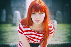 Закос под пленку (Chizury) Tags: ifttt 500px portrait girl beauty woman youth female pretty red hair smile happy caucasian looking sexy young redhead long freckles dress beautiful teenager adult redhair posing attractive one person head shoulders casual clothing