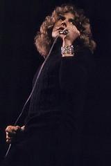 Robert Plant on stage 1969 (DanÅke Carlsson) Tags: robert plant ledzeppelin zep artist singer rock british uk england sixties 1969 stage stockholm konserthus
