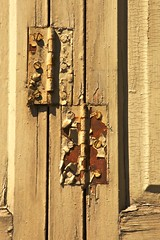Hinge Binge or Martina's Hinges (Dan Daniels) Tags: shutters hinges wood architecture joints nikon audand alsace mulhousealsacefr france windows rust