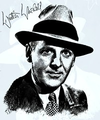 Walter Winchell (Bob Smerecki) Tags: smackman snapnpiks robert bob smerecki sports art digital artwork paintings illustrations graphics oils pastels pencil sketchings drawings virtual painter 6 watercolors smart photo editor colorization akvis sketch drawing concept designs gmx photopainter 28 draw hollywood walk fame high contrast images movie stars signatures autographs portraits people celebrities vintage today metamorphasis 002 abstract melting canvas baseball cards picture collage jixipix fauvism infrared photography colors