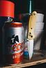 Edit -1-7 (Dane Van) Tags: beer cerveza tacate knife pocketknife benchmade bm556 benchmade556 canon 5d canon5d 35mm