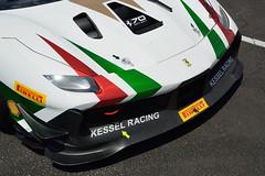 Kessel Racing Ferrari 488 Challenge (Y7Photograφ) Tags: kessel racing ferrari 488 challenge claudio schiavoni castellet paul ricard httt nikon d3200 motorsport cars