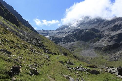 montée au Col des Arpettes