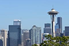 Seattle Skyline (trphotoguy) Tags: seattle washington skyline seattleskyline cityskyline kerrypark afnikkor70210f456d 70210mmf456d spaceneedle