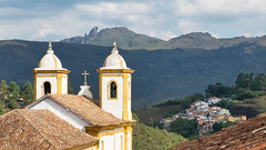 Nossa Senhora das Mercês e Perdões (Du Monde Dans L'Objectif) Tags: amériquedusud architecture brésil colonial minasgerais ouropreto ville église religion travel church city town cityscape rock tourism hill outdoors daylight sky