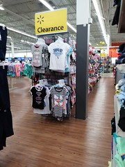 Walmart Supercenter (Murdock Cir) - Port Charlotte, FL - Clearance Clothing (SunshineRetail) Tags: walmart supercenter murdock store portcharlotte fl florida remodel