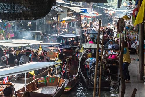 marche fottant damnoen saduak - thailande 50