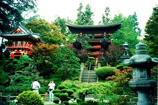 San Francisco California  ~  Japanese Tea Garden  ~ Golden Gate Park ~ Historic