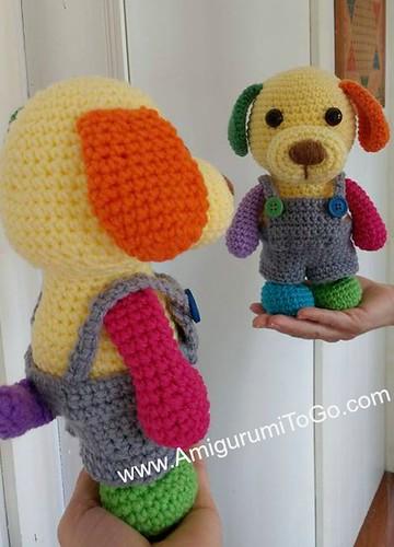 Original Little Bigfoot Lion Free Crochet Pattern | Crochet lion ... | 500x360