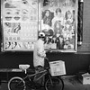 Beauty Options (Zach K) Tags: beauty options haircut skin conditions salon advertising mongoose bicycle poster billboard sign signage nyc new york city chintown fujifilm x100f fuji acros street streetphotography bw black white bike lower manhattan
