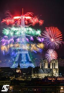 Bastille Day 2017 / Fireworks