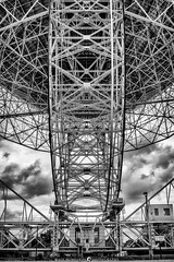 Jodrell Bank (MTD Photos) Tags: jodrellbank abstract angles architecture astronomy blackandwhite clouds dish mattdomonkos radio space structure telescope